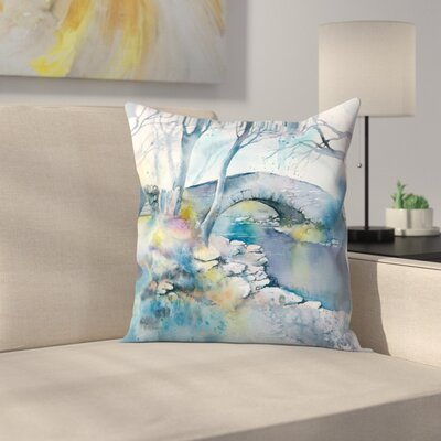 Bridge Throw Pillow Size: 14 x 14