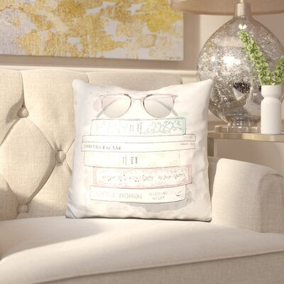 Iolanthe Amandas Library Throw Pillow