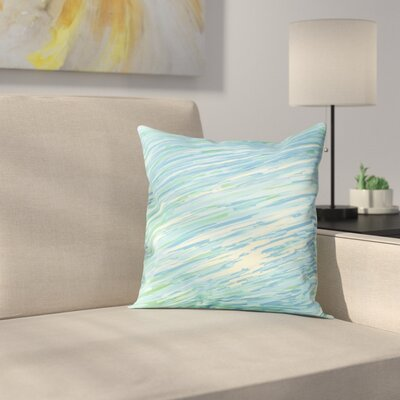 Carovilli Throw Pillow Size: 16 H x 16 W, Color: Cool