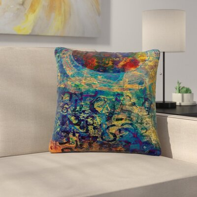 AlyZen Moonshadow Discover 3 Outdoor Throw Pillow Size: 16 H x 16 W x 5 D