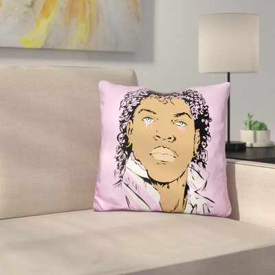 Young Ice Cube Throw Pillow