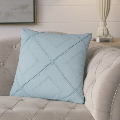 Kingsburg Decorative 100% Cotton Throw Pillow Color: Turquoise