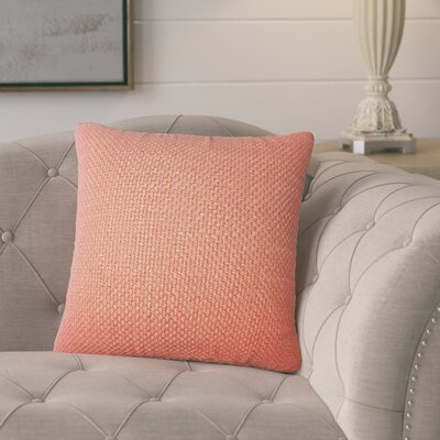 Glade Solid Throw Pillow Color: Cinnamon