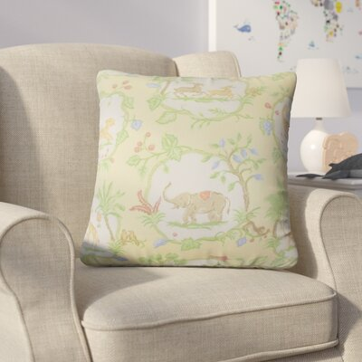 Sevin Floral Cotton Throw Pillow