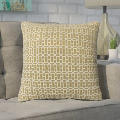 Yemanja Geometric Throw Pillow Color: Raffia