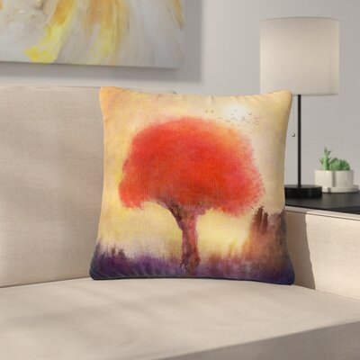 Viviana Gonzalez Tree Outdoor Throw Pillow Size: 16 H x 16 W x 5 D
