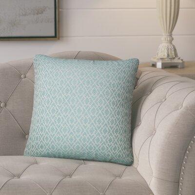 Talevi Geometric Throw Pillow Color: Caribbean