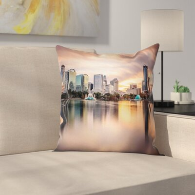 Landscape Removable Pillow Cover Size: 18 x 18