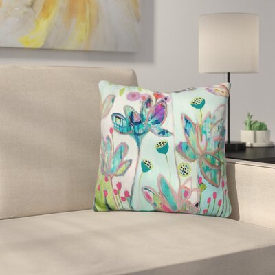 Floral and Botanical III Throw Pillow