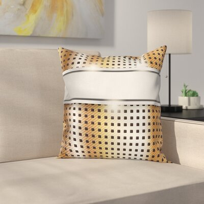High Tech Image Square Pillow Cover Size: 18 x 18