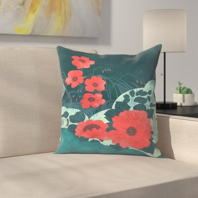 Ruby Throw Pillow Size: 18