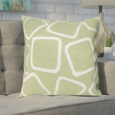 Colley Throw Pillow Color: Lime