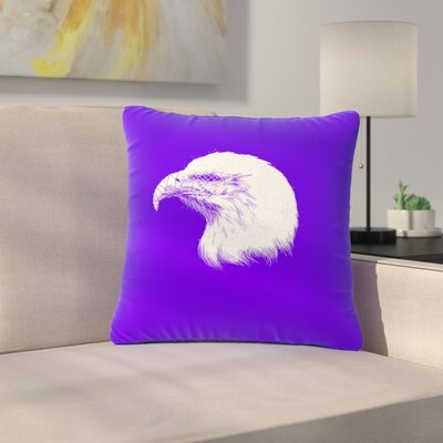 BarmalisiRTB Blind and Silent Outdoor Throw Pillow Size: 16 H x 16 W x 5 D