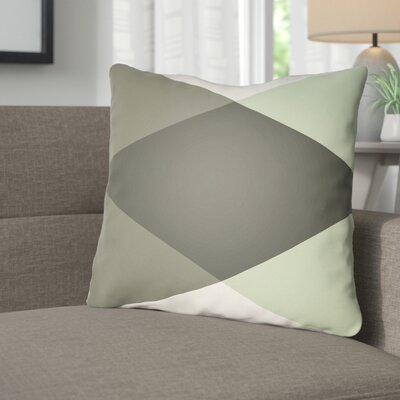 Wakefield Ii Throw Pillow Size: 20 H x 20 W x 5 D, Color: Grey/Mint