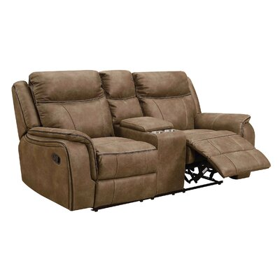 Roddy Console Reclining Loveseat Reclining Type: Manual