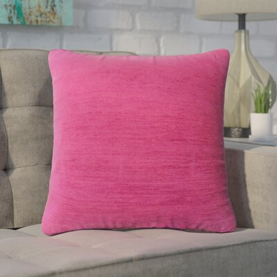 Wightman Solid Down Filled Throw Pillow Size: 20 x 20