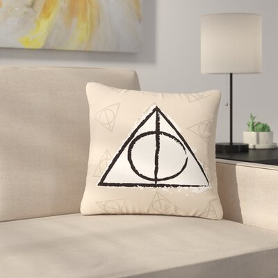 Jackie Rose Hollows Outdoor Throw Pillow Size: 16 H x 16 W x 5 D