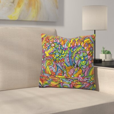 Shane Monster Throw Pillow