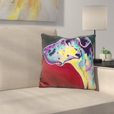 Boz Throw Pillow