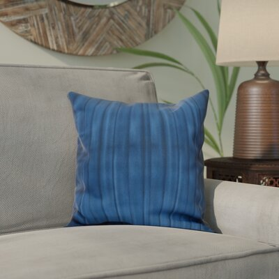 Viet Pool Throw Pillow Size: 16 H x 16 W, Color: Navy Blue