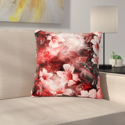 Shirlei Patricia Muniz Garden Secret Outdoor Throw Pillow Size: 18 H x 18 W x 5 D