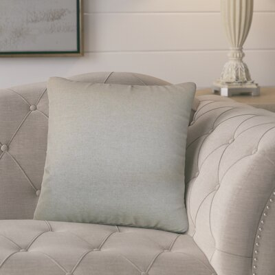 Oellers Solid Cotton Throw Pillow