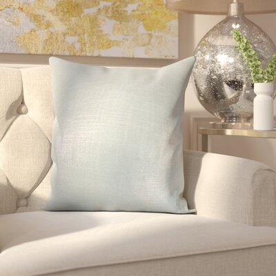 Camille Throw Pillow Color: Baby Blue