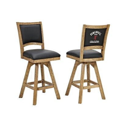 Fireball 30 Swivel Bar Stool (Set of 2)