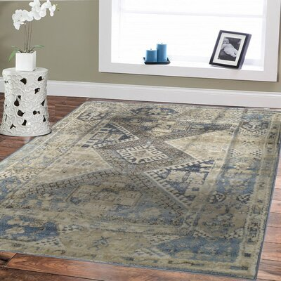 Wilke Gray/Ivory Area Rug Rug Size: Rectangle 2 x 3