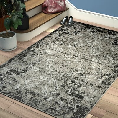 Christine Light Gray Indoor/Outdoor Area Rug Rug Size: Rectangle 6 x 9