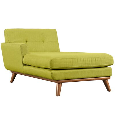 Johnston Chaise Lounge Upholstery: Wheatgrass, Orientation: Left Hand Facing