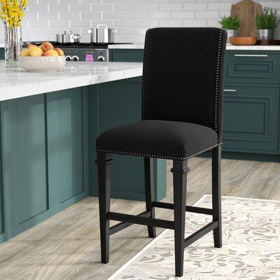 Rowen 30 Bar Stool Upholstery: Charcoal