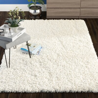 Starr Hill Ivory Area Rug Rug Size: Rectangle 5 x 8
