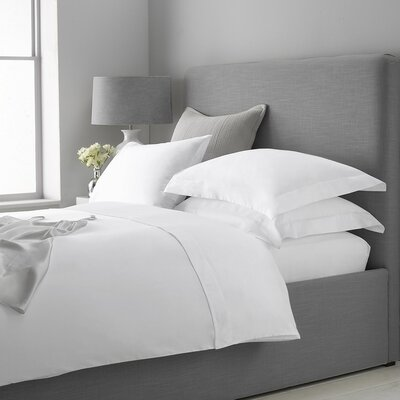 Macfarlane Cashmere 400 Thread Count Sheet Set Size: King, Color: White
