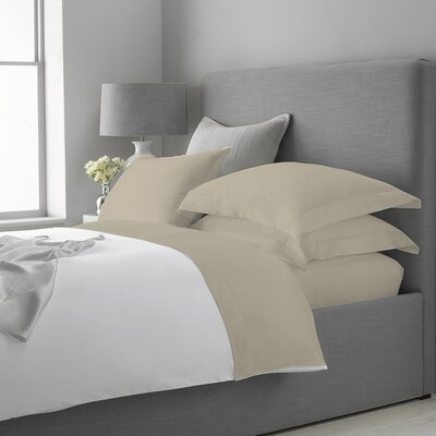 Macfarlane Cashmere 400 Thread Count Sheet Set Size: Queen, Color: Taupe