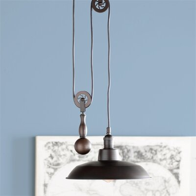 Ariel 1-Light Mini Pendant Finish: Antique Bronze