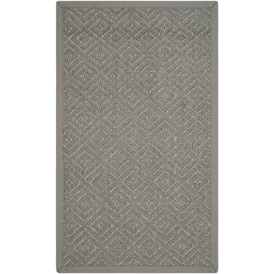 Freitag Light Gray Area Rug Rug Size: Rectangle 3 x 5