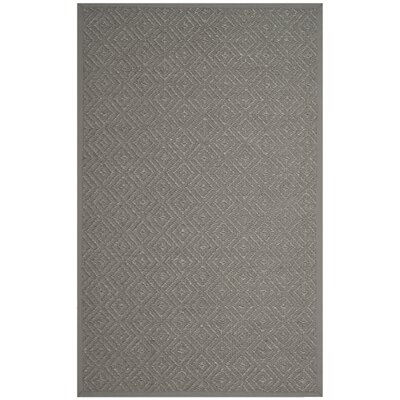 Freitag Light Gray Area Rug Rug Size: Rectangle 5 x 8