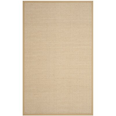 Freels Natural/Beige Area Rug Rug Size: Rectangle 6 x 9