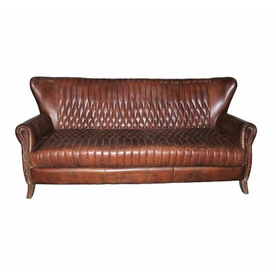 Saville Genuine Leather Standard Sofa