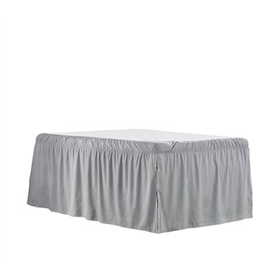 Whitehurst Ruffled Dorm Sized Bed Skirt Color: Alloy