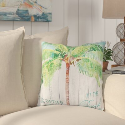 Thornton At the Beach Indoor/Outdoor Throw Pillow