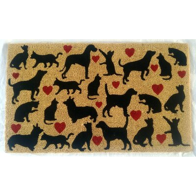 Pugliese Dog & Cat Lovers Doormat