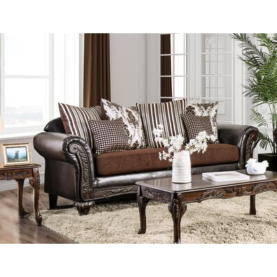 Ridings Sofa Upholstery: Brown