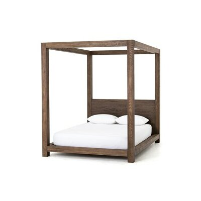 Wick, Somerset Canopy Bed Size: King