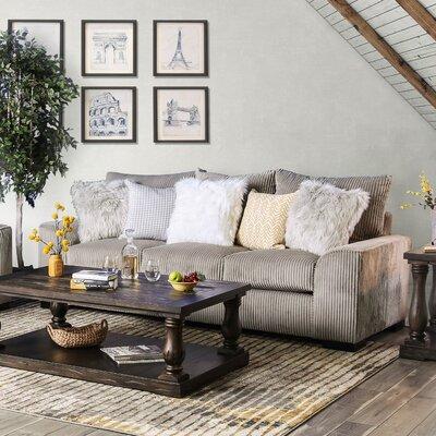Tomas Sofa Upholstery: Gray