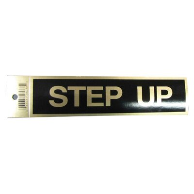 Step Up Sign