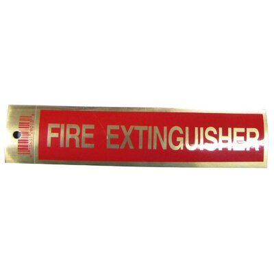 Fire Extingusher Sign