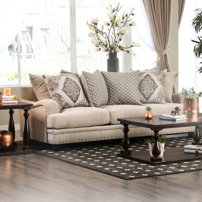 Dirks Sofa Upholstery: Light Brown