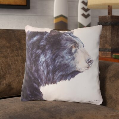 Nunley Bear Indoor/Outdoor Throw Pillow